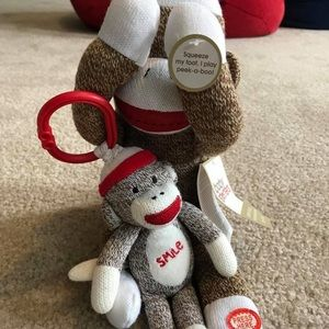 Other - Peekaboo monkey and mini monkey